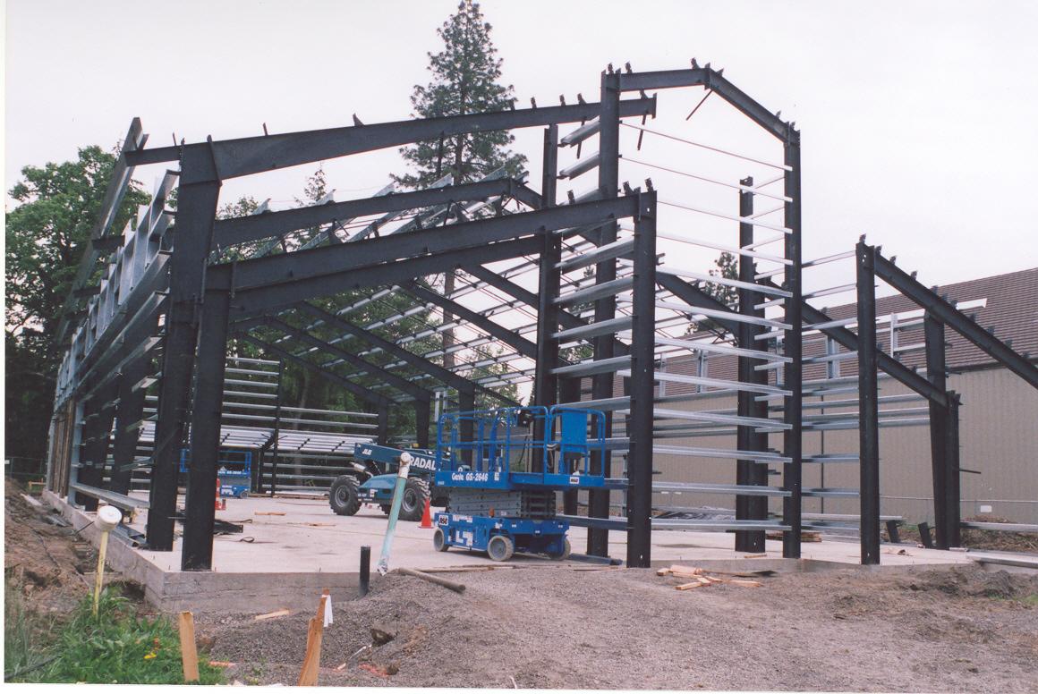 Rigid Frame Building : Rigid frame systems web steel buildings northwest llc