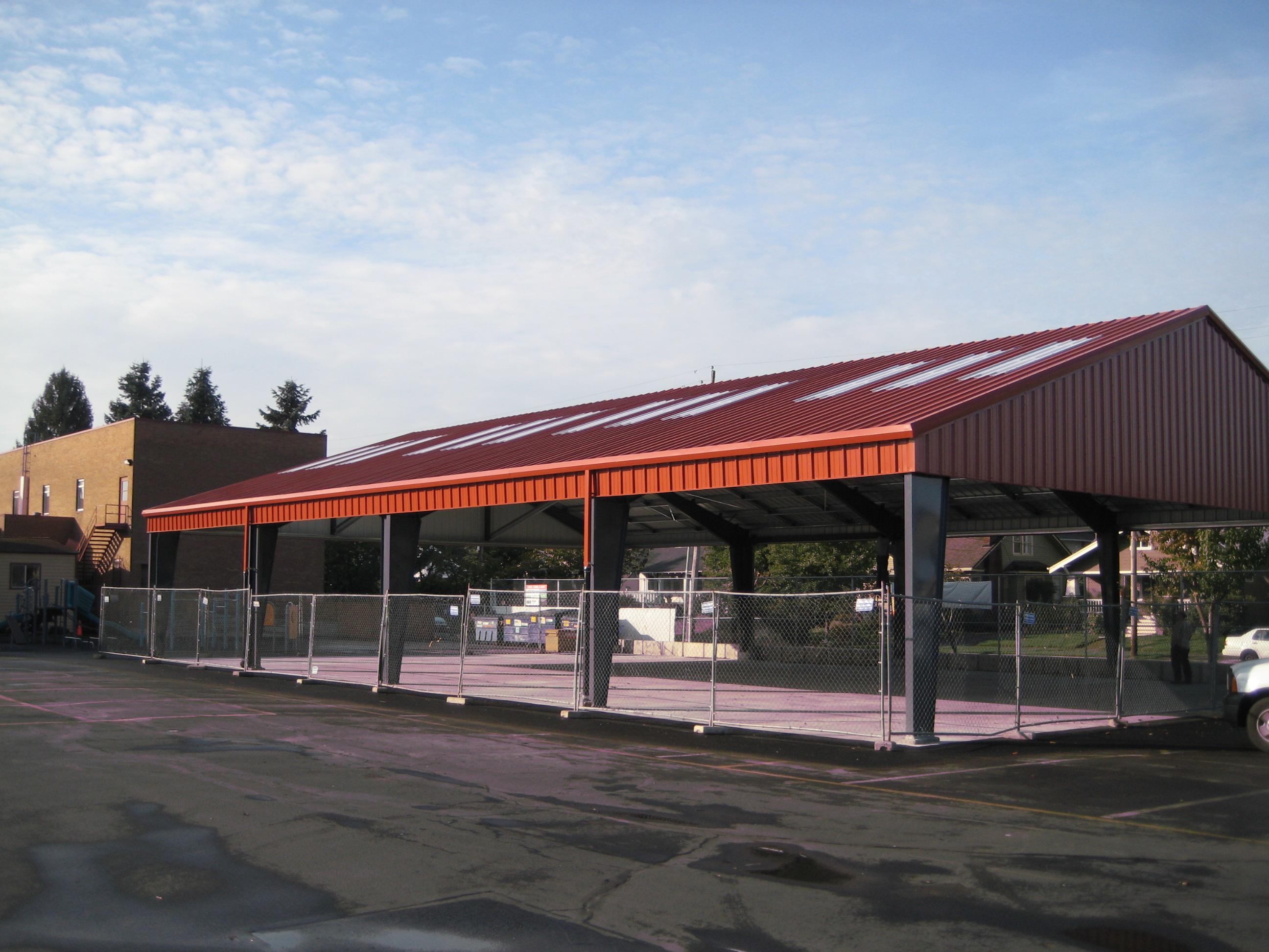 Rigid Frame Systems Web Steel Buildings Northwest Llc
