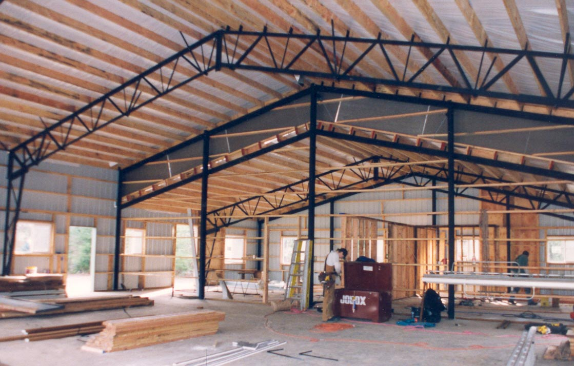 Steel Frame Building Kits : Web steel buildings