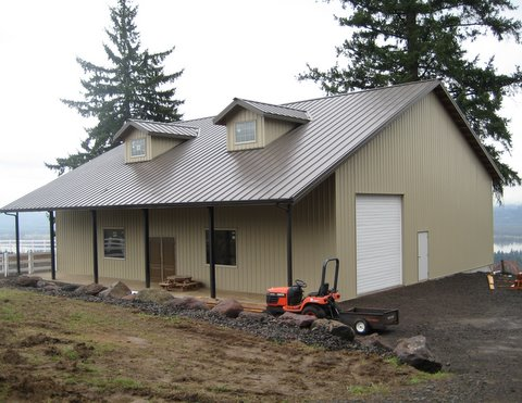 Quot Home Sweet Barndominium Quot Web Steel Buildings Northwest Llc
