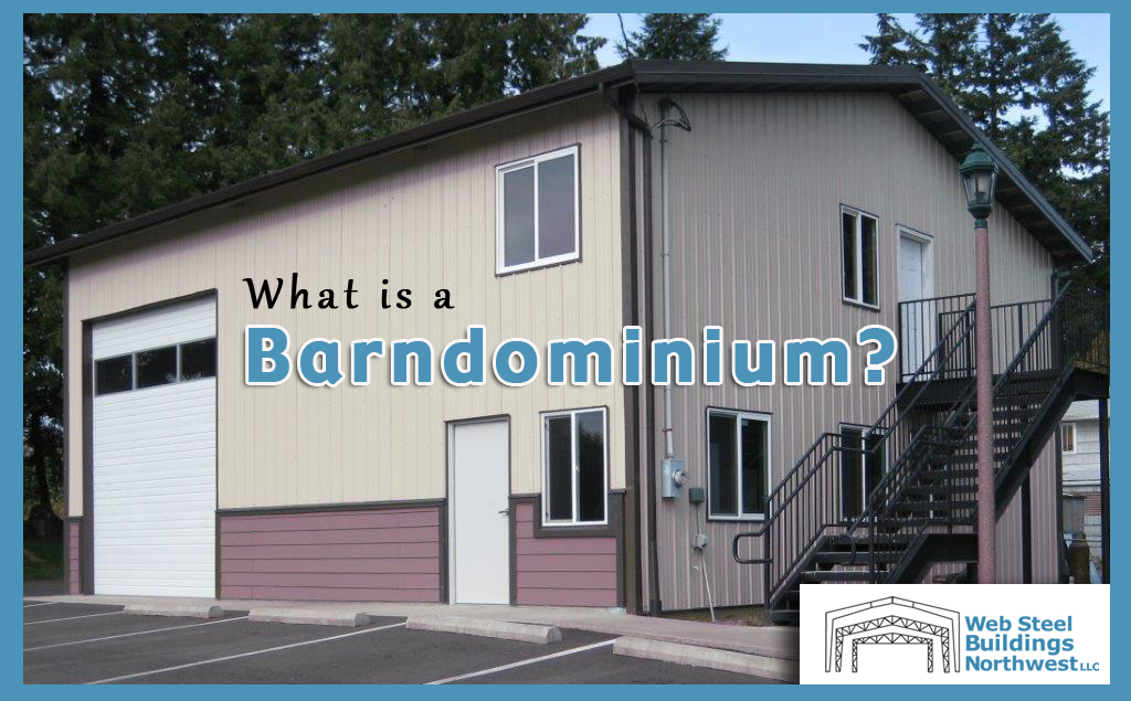 """Home sweet Barndominium"""